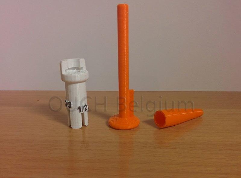 Injecteur 3D permettant l'injection de doses partielles