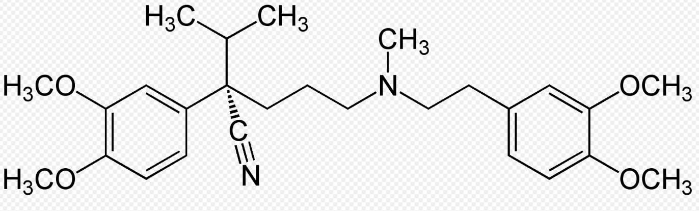 Formule du vérapamil