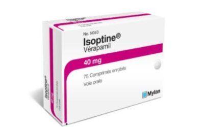 Retour de l'Isoptine 40 mg